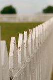 staketposteringwhite Arkivbilder