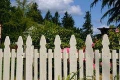 staketposteringwhite Royaltyfria Foton