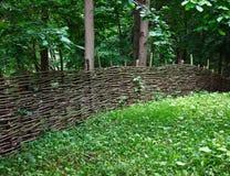 staketträdgård arkivfoto