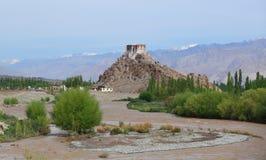 Stakna gompa in Leh. Ladakh, India Royalty Free Stock Photo