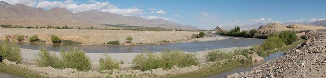 Stakna Monastery a Buddhist monastery  sect in Leh , Ladakh. Royalty Free Stock Photography