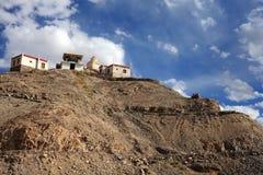 Stakna monastery in Ladakh Royalty Free Stock Photo