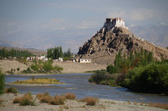 Stakna Monastery or Stakna Gompa Royalty Free Stock Image