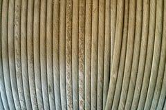 Stal kabel, abstrakcjonistyczny widok Zdjęcie Royalty Free