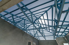 Stal Roof-15 Zdjęcia Stock
