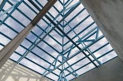 Stal Roof-19 Fotografia Stock