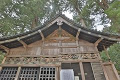 Stal van Drie wijze apen van Tosho gu Royalty-vrije Stock Afbeeldingen