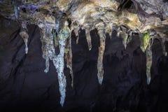 Stalactieten van Akiyoshi Cave, de Paraplu's royalty-vrije stock afbeeldingen