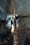 stalactite подземелья Стоковое фото RF