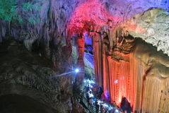 stalactite Arkivbilder