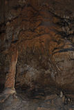 Stalactite in Aggtelek cave Stock Image
