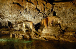 Stalactite cave Stock Photos