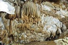 Stalactite cave Stock Image