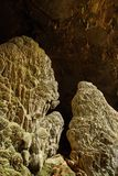 The stalactite of cave Royalty Free Stock Photo