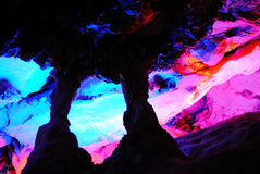 Stalactite cave Royalty Free Stock Photography