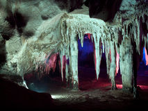 Tham Khao Bin cave Stock Photos