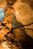 stalactite de caverne Images libres de droits