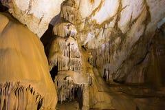 stalactite de caverne Photographie stock libre de droits