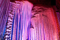Stalactite grotto Royalty Free Stock Photo