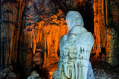 The Stalactite just like man Royalty Free Stock Image