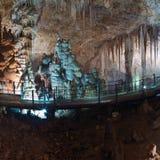 Stalactite stalagmite cavern Royalty Free Stock Image