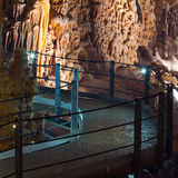 Stalactite stalagmite cavern Stock Photography
