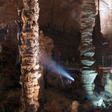 Stalactite stalagmite cavern Stock Photo
