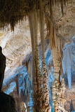 Stalactitehöhle Stockbild