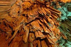 Stalactites énormes en caverne de Melidoni Photographie stock libre de droits