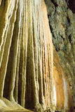 Stalactites в подземелье Стоковое фото RF