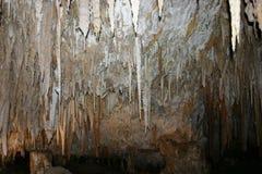 stalactites Foto de Stock Royalty Free