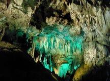 stalactites stock foto's