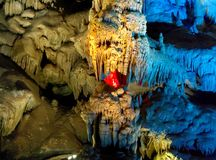 stalactites royalty-vrije stock afbeeldingen