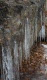 stalactites royalty-vrije stock afbeelding