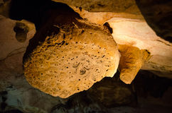 Stalactites Caverne Emine Bair Khosar en Crimée photo libre de droits