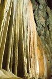 Stalactites dans une caverne Photo libre de droits