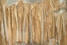 Stalactites et stalagmites Photographie stock libre de droits
