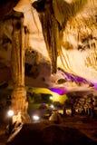 Stalactites in Orlova Chuka cave Stock Photography
