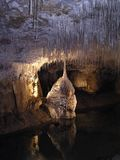 Stalactites and stalagmites 1, Royalty Free Stock Images