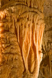 Stalactites and stalagmites in Bermuda. Stalactite and stalagmite formations in the Crystal and Fantasy Caves, Bermuda royalty free stock images