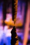Stalactites stalagmites cave Royalty Free Stock Images
