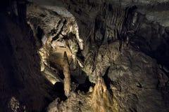 Demanovska Cave of Liberty, Slovakia. Stalactites and stalagmites in the Demanovska Cave of Liberty. Slovakia Royalty Free Stock Images