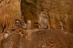 Stalactites stalagmites marble caves Stock Images
