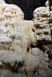 Stalactites, stalagmites and underground rock. Formations old history royalty free stock images