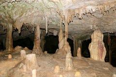 stalactitesstalagmites Royaltyfri Fotografi
