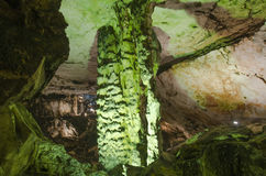 Stalactone στη σπηλιά Magura, Belogradchik, Βουλγαρία Στοκ Εικόνες