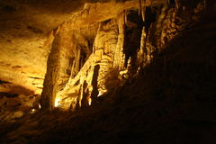 Stalagmit & stalaktit Fotografering för Bildbyråer