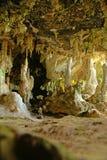 Stalagmite cave Stock Image