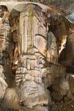 Stalagmite in caverna di Postumia Immagine Stock