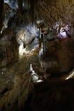 Stalagmite, cavernes de Jenolan Images libres de droits